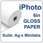 IPS 15.2cm(6in)x186m GLOSS 2 ROLLS